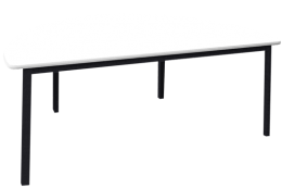 Melamine Half Round Table