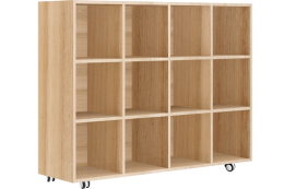 Vic Ash Veneer Locker Unit