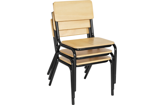 Stackable Steel Chair
