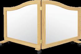 2 Way Mirror Room Divider