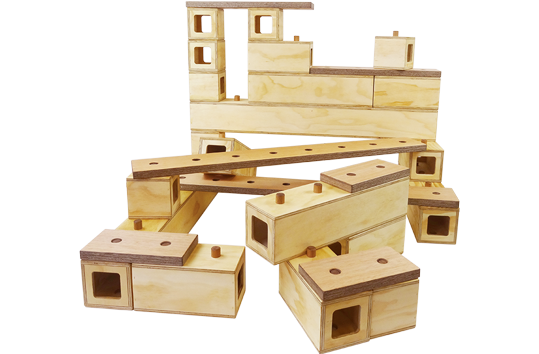 Connector Wooden Blocks