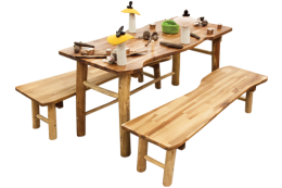 Tree Furniture: Table and Benches