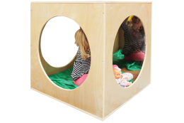Wooden Playhouse Cube