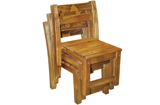 Solid Acacia Chair
