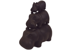 HIPPO SET BLACK DECOR