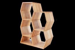 Honeycomb Bookshelf