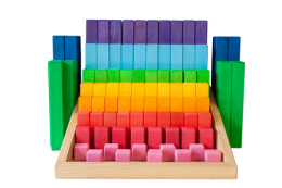 stepped blocks